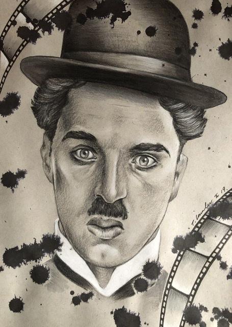 Charlie Chaplin par TraceyLawler
